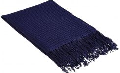 FOSUKE/ THROW INDIGO 130X170