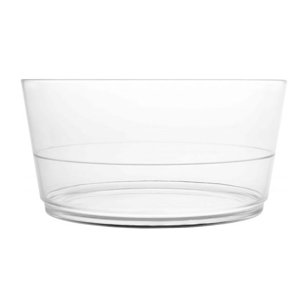 Transparent acrylic salad bowl n°2