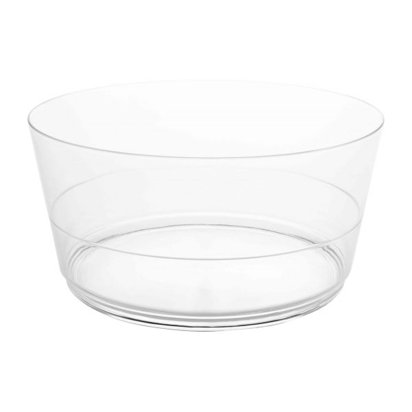 Transparent acrylic salad bowl n°1