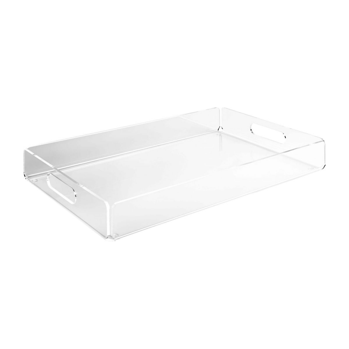 Transparent acrylic tray n°1