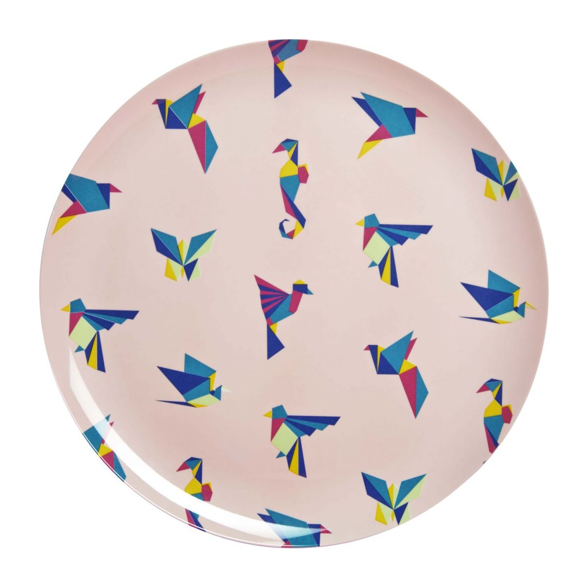 Round patterned tray n°1