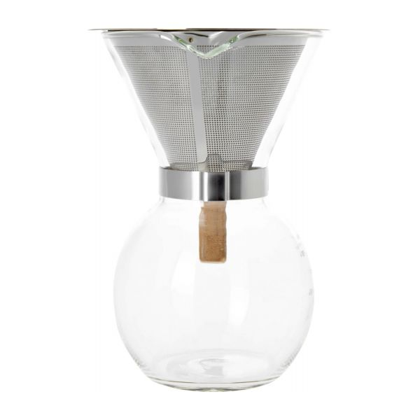 400 ml glass coffee maker n°4
