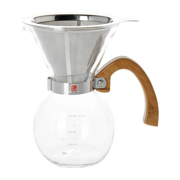400 ml glass coffee maker n°2