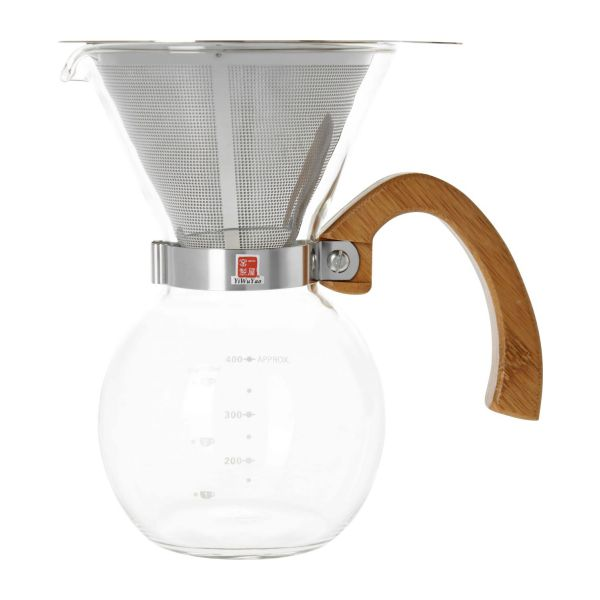 400 ml glass coffee maker n°3
