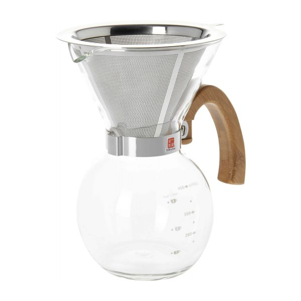 400 ml glass coffee maker n°1