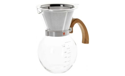 650ml glass coffee maker