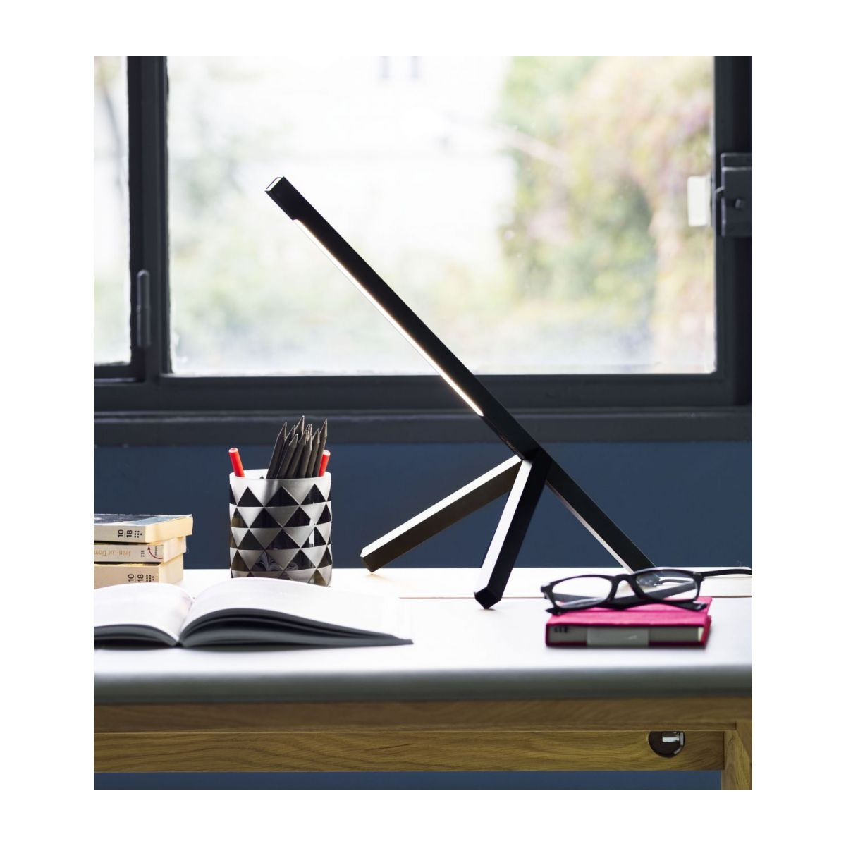 Metal desk lamp n°8