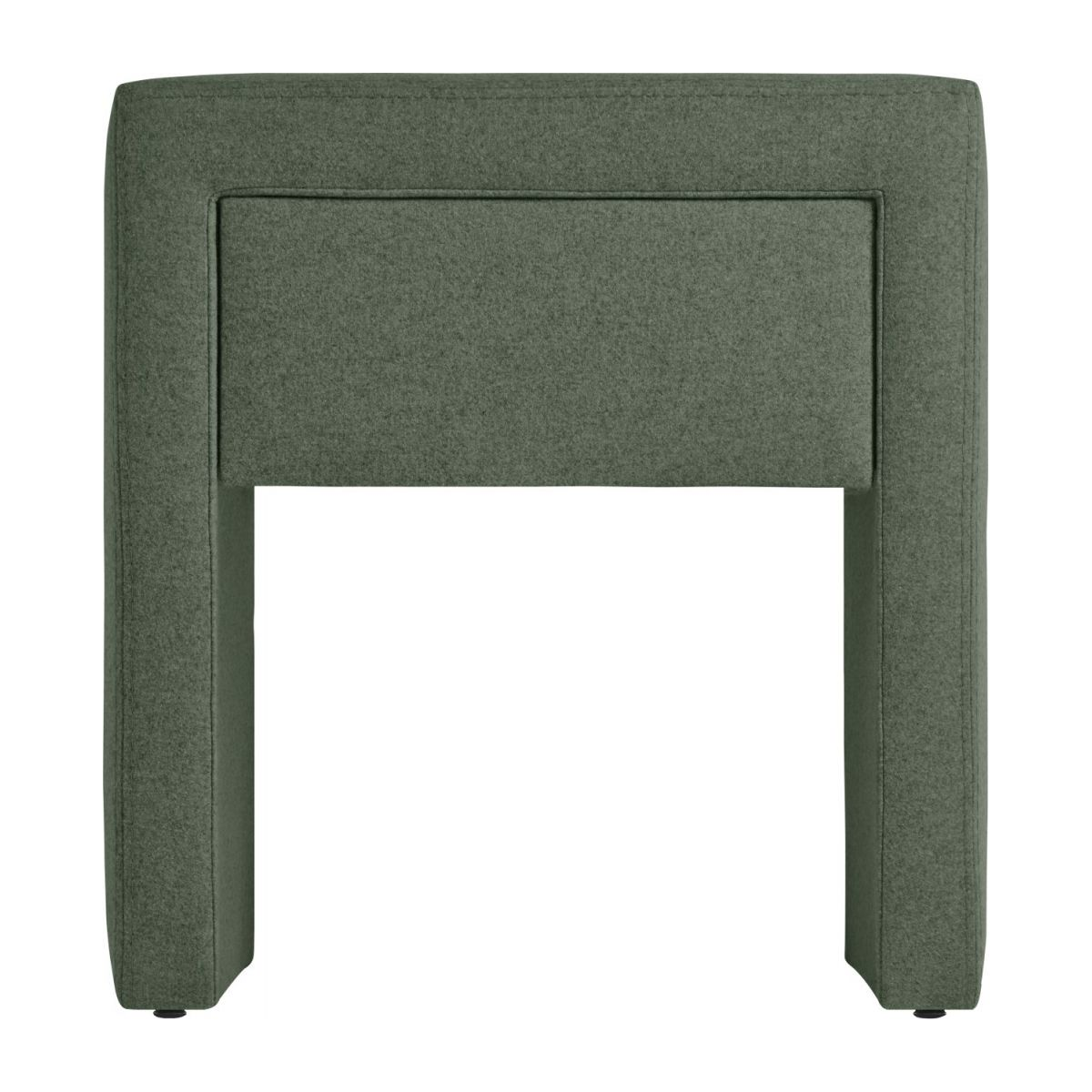 Fabric bedside table n°4
