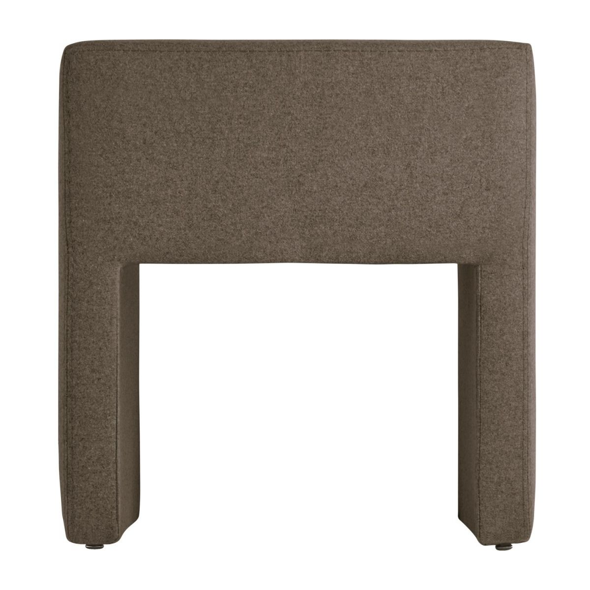 Table de chevet en feutrine - Beige n°6