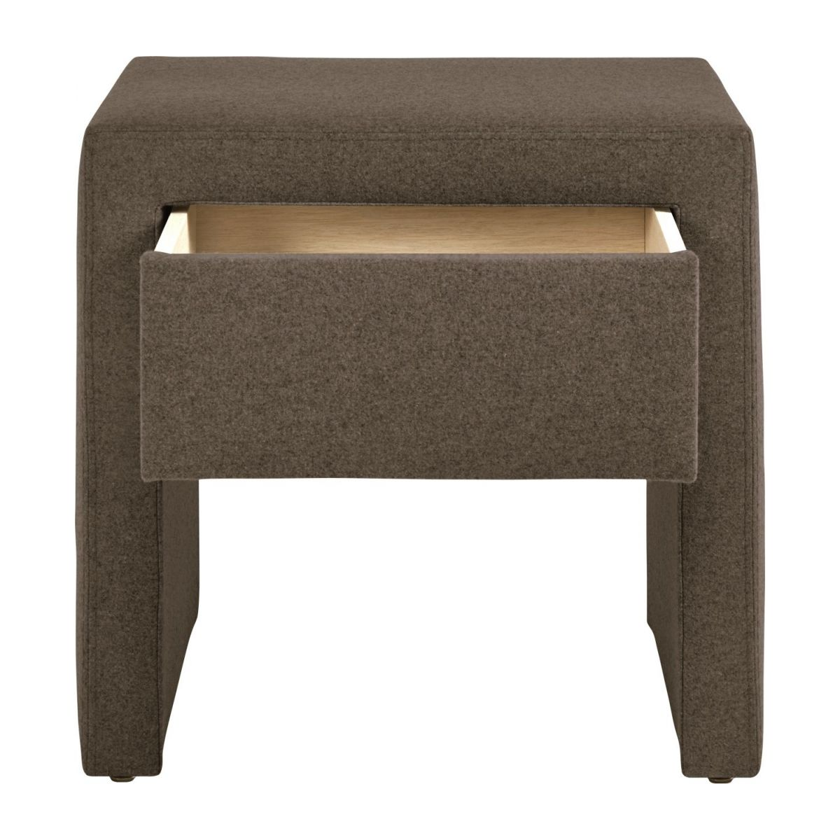 Table de chevet en feutrine - Beige n°3