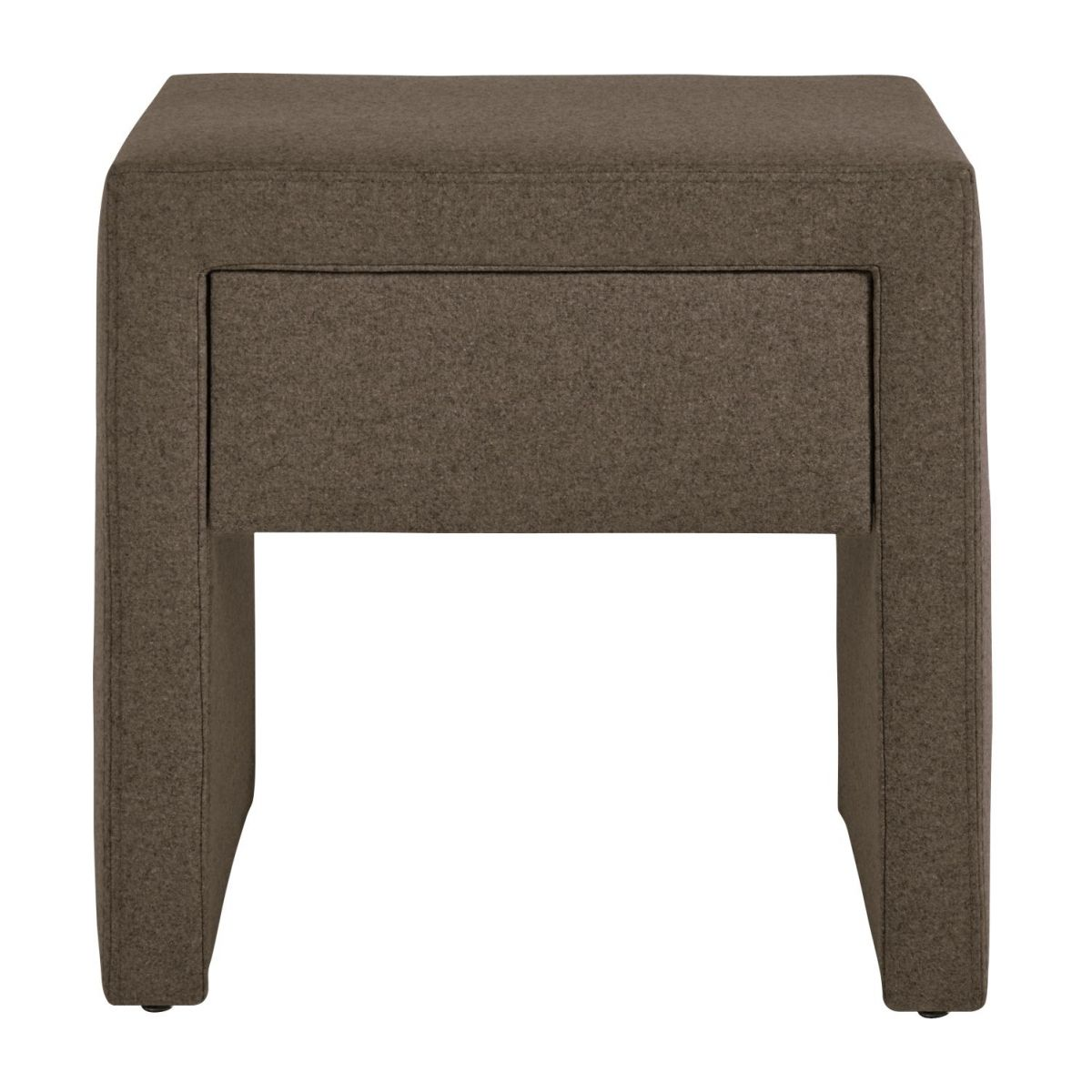 Table de chevet en feutrine - Beige n°2