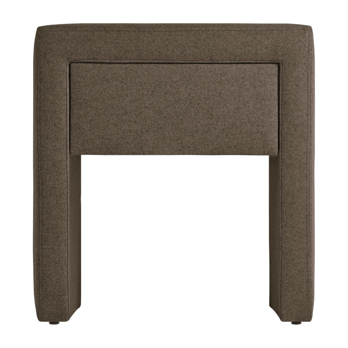 Table de chevet en feutrine - Beige n°4