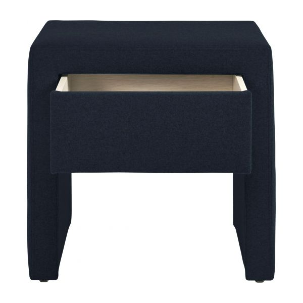 saturn chevet en feutrine bleu marine habitat. Black Bedroom Furniture Sets. Home Design Ideas
