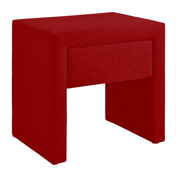 Table de chevet rouge table - Table de chevet rouge ...