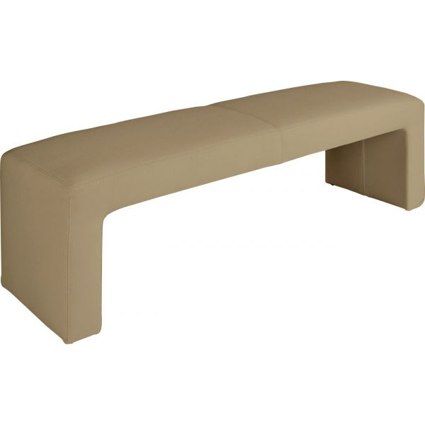 asteroid banc de lit en tissu beige clair par habitat chez habitat fr. Black Bedroom Furniture Sets. Home Design Ideas