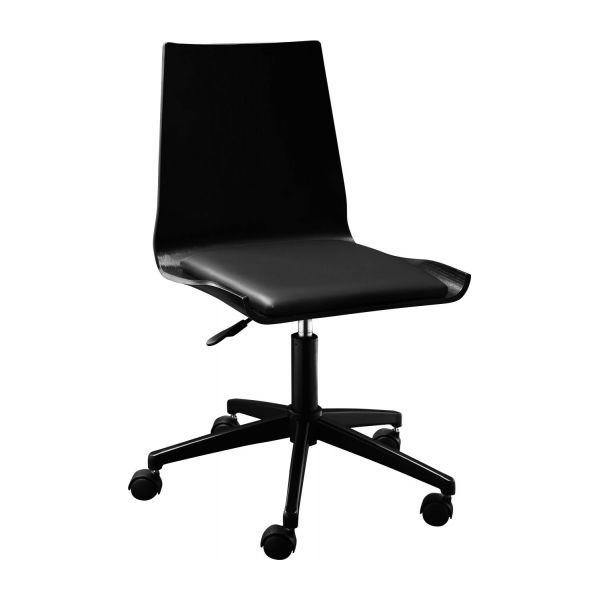 Sillas escritorio awesome asiento de oficina negro with for Asiento de escritorio