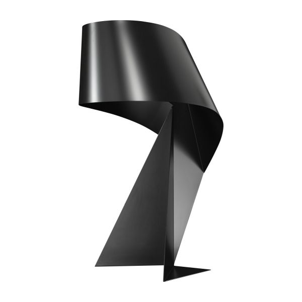 ribbon lampe poser g ante 90cm en m tal noir habitat. Black Bedroom Furniture Sets. Home Design Ideas
