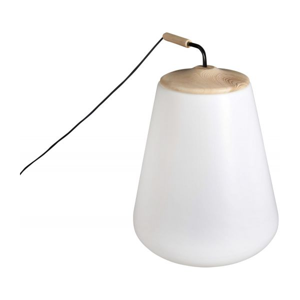 Nomade outside floorlamp made of polyethylene habitat outside floorlamp made of polyethylene n1 mozeypictures