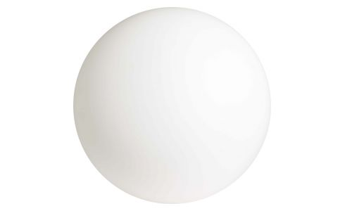 Wall light for outdoor or bathroom use