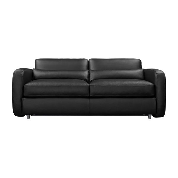 bosco ii 3 sitzer schlafsofa mit lederbezug habitat. Black Bedroom Furniture Sets. Home Design Ideas