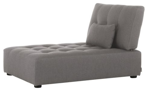 Chaiselongue en tela