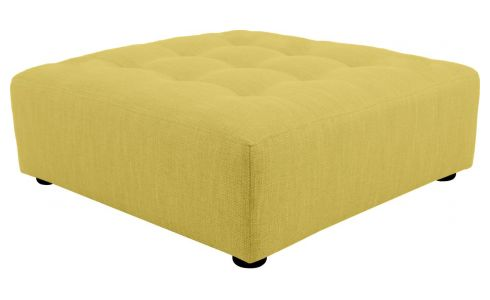 Fabric footstool