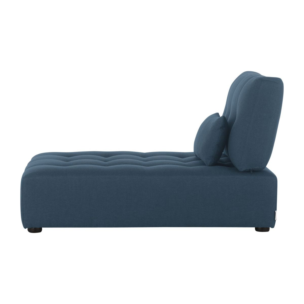 Chaiselongue de tela-azul n°4