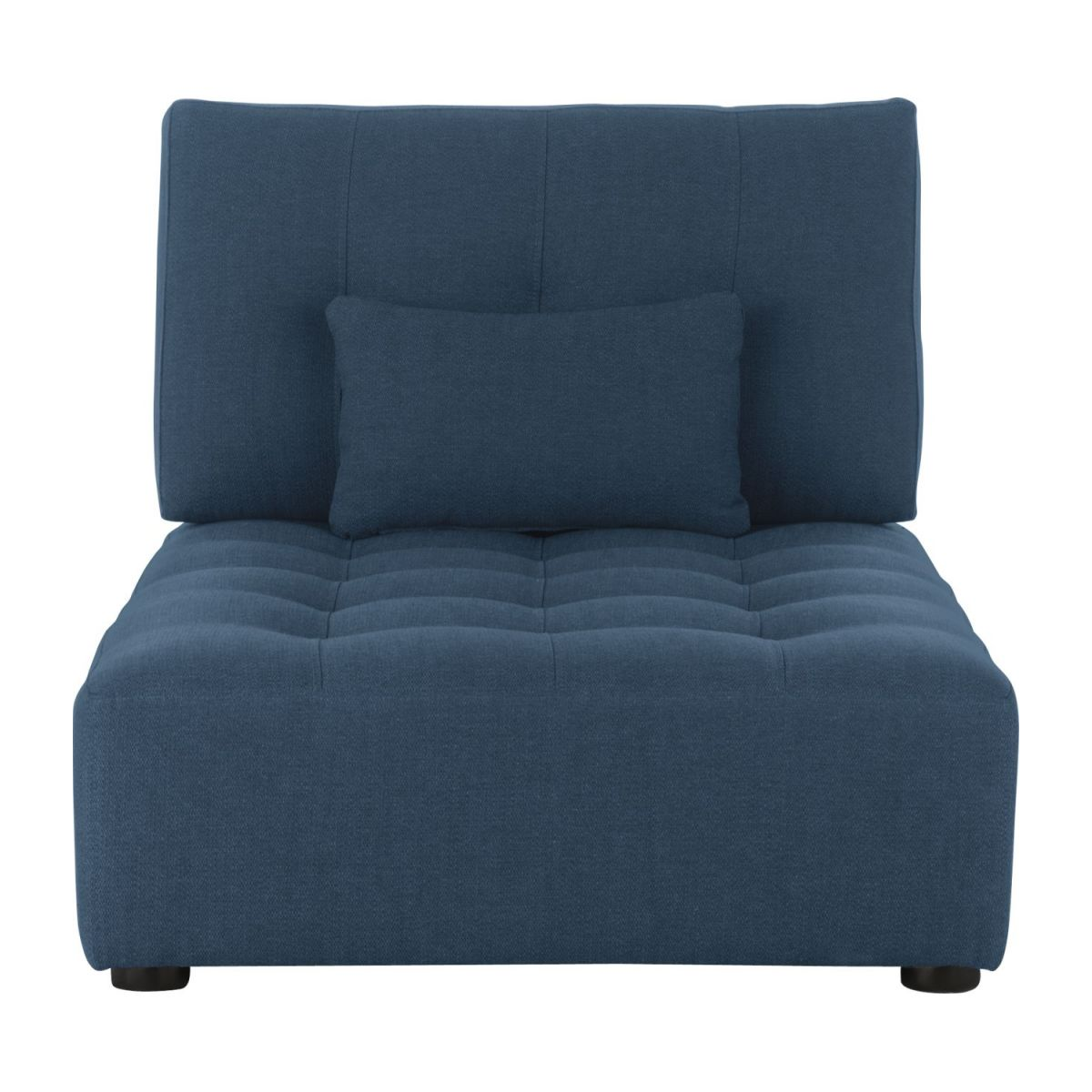 Chaiselongue de tela-azul n°3
