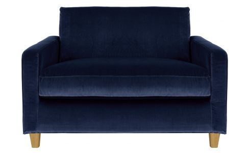 Loveseat sofa velur