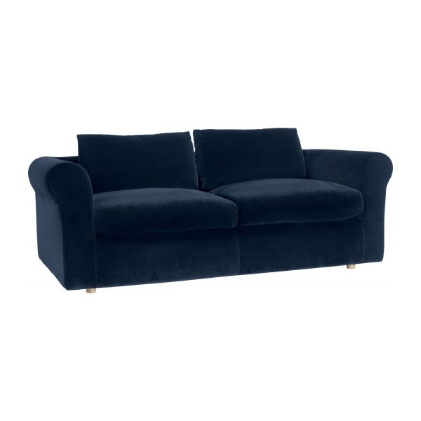 Louis - Fabric 3-seater sofa - Habitat