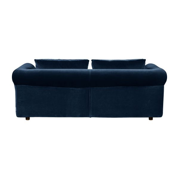 3-seater velvet sofa bed  n°5