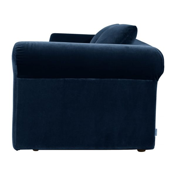 3-seater velvet sofa bed  n°3