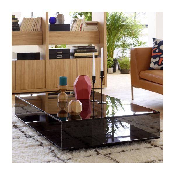 galen table basse en verre habitat. Black Bedroom Furniture Sets. Home Design Ideas