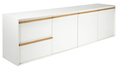 White low sideboard