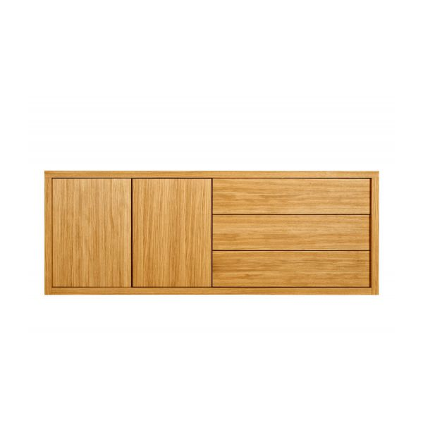 Oak storage unit n°6