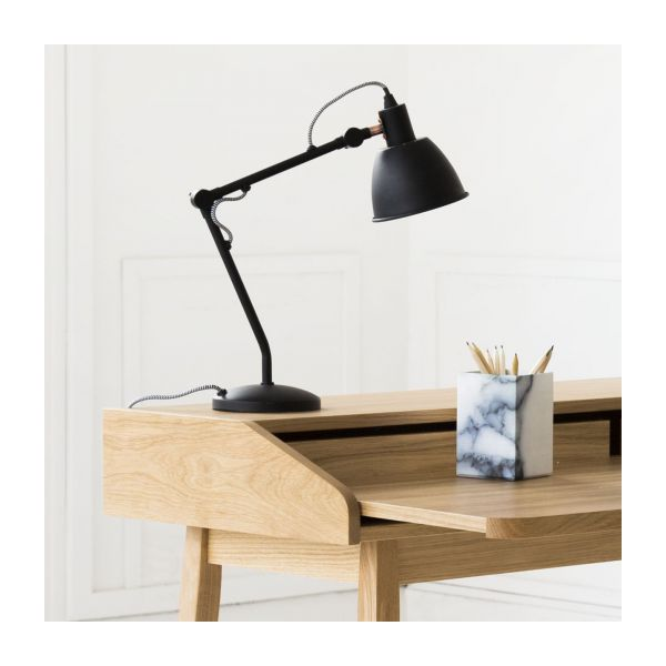 flex lampe de bureau en m tal habitat. Black Bedroom Furniture Sets. Home Design Ideas