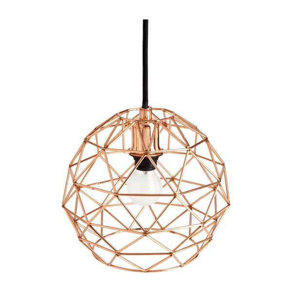 Copper ceiling light n1