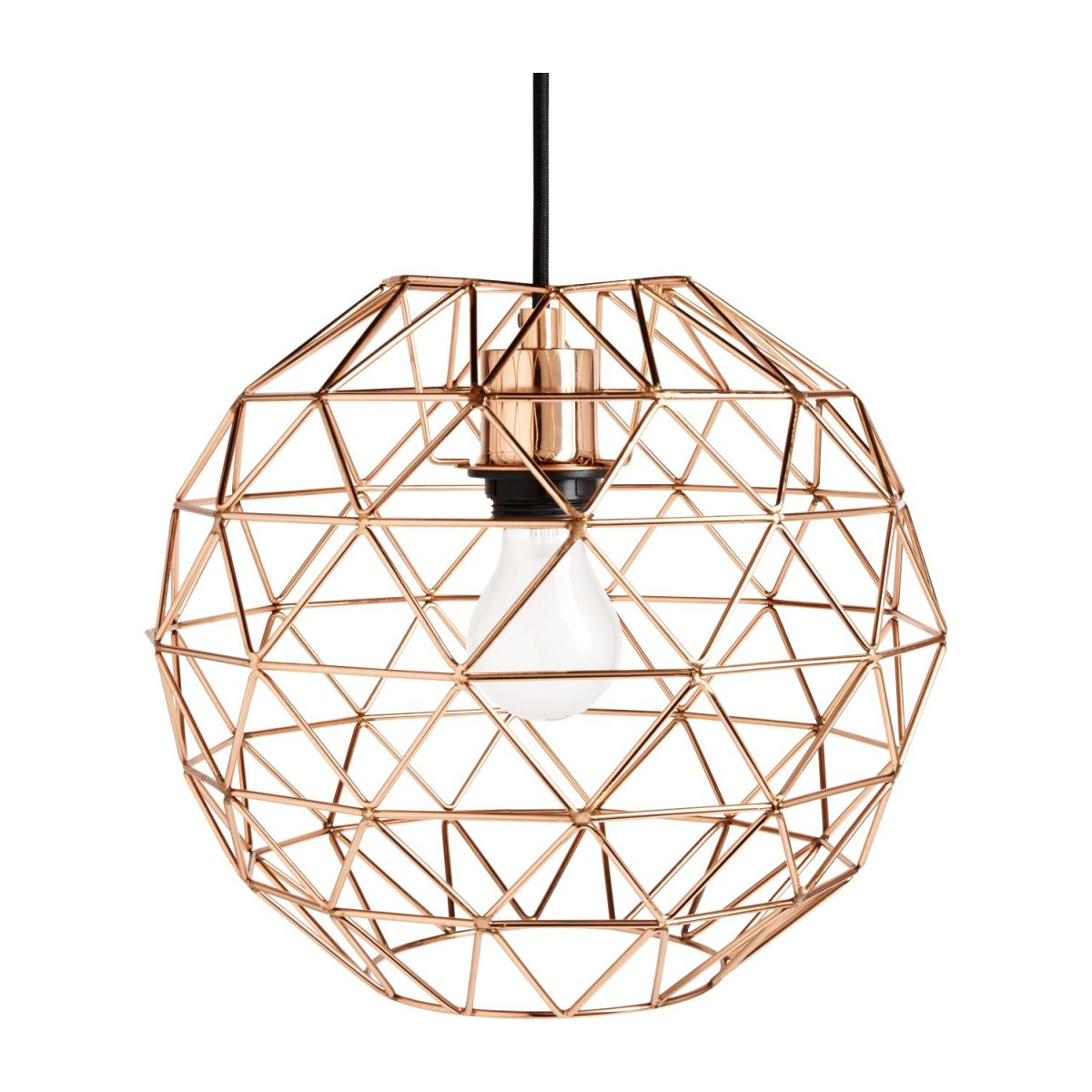 Copper ceiling light  n°3