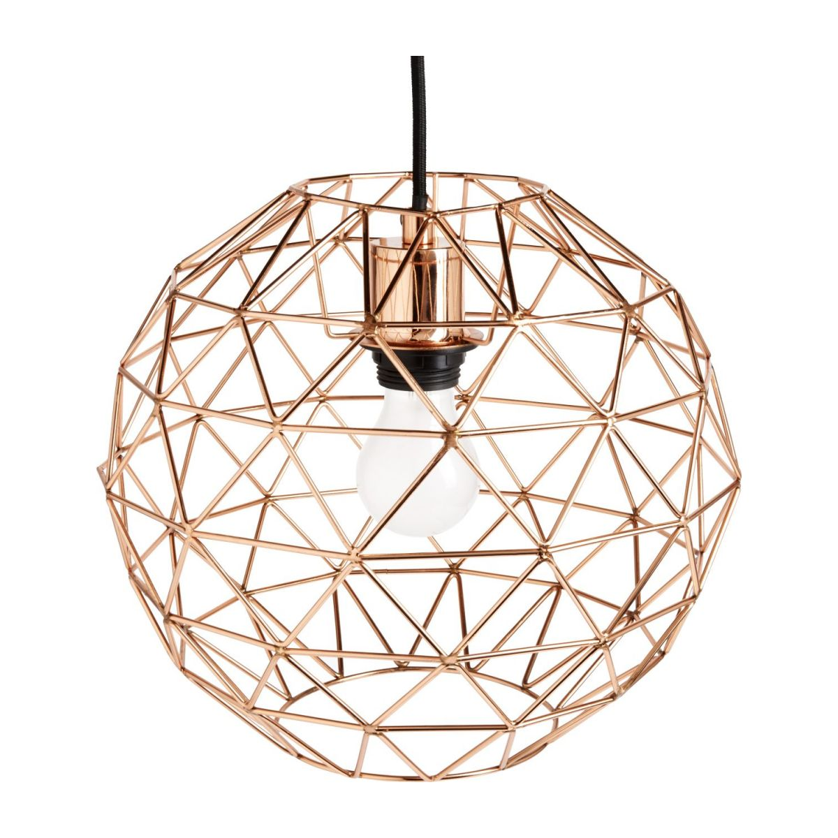 Copper ceiling light  n°1