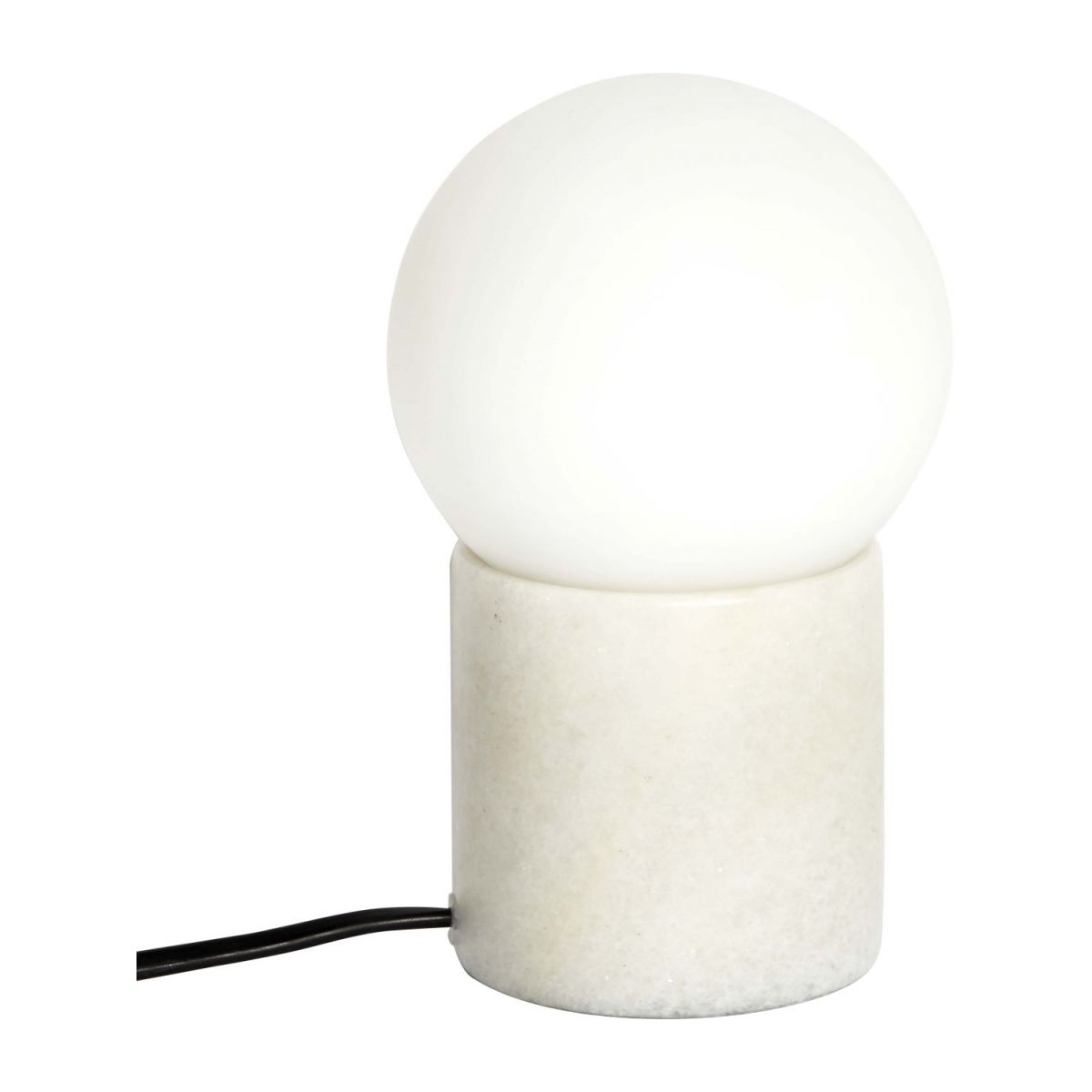 White table lamp n°4