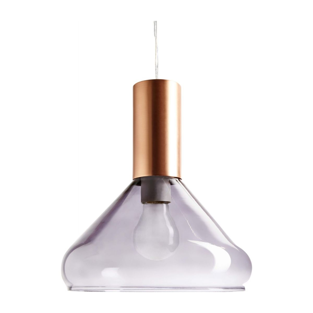 Steel ceiling light  n°3
