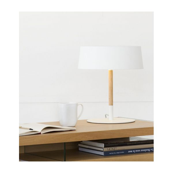 White table lamp  n°9