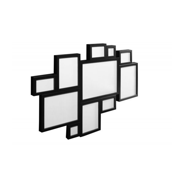 wall mounted multiple photo frame n1 - Multiple Photo Frame