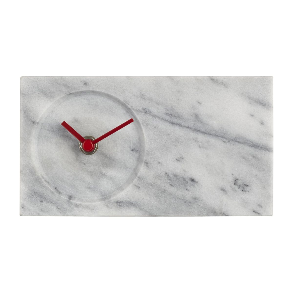 Marble table clock n°2