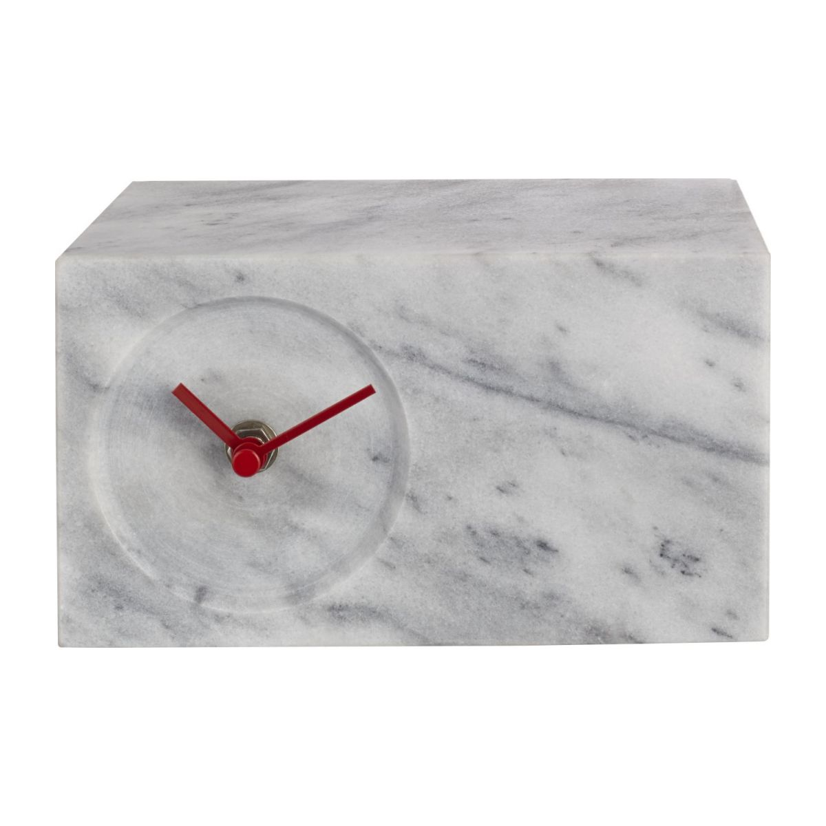 Marble table clock n°1