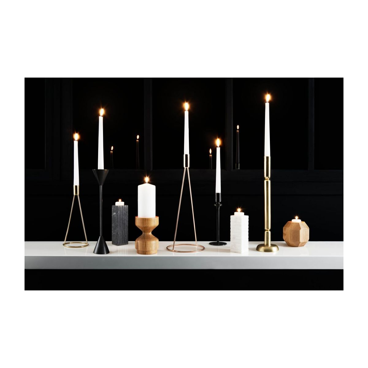 Marble candlestick n°3