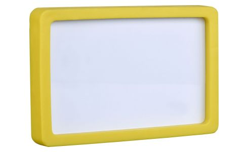 10 x 16 yellow photo frame