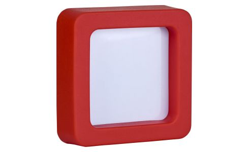 5 x 5 red photo frame