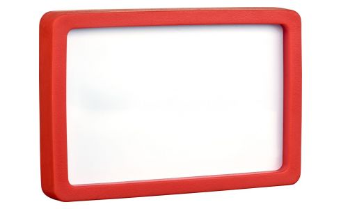 10 x 15 red photo frame