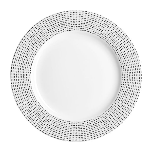 Set of 4 flat plates n°2  sc 1 st  Habitat & Drafts - Set of 4 flat plates - Habitat